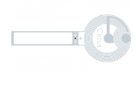SMARTRAC Circus Tamper Loop NFC Wet Inlay (NXP NTAG213 TT) | 3006670