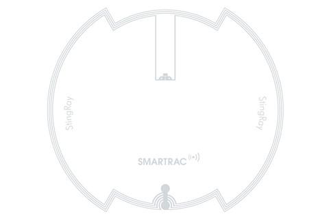 SMARTRAC StingRay HF RFID Wet Inlay (NXP lCode SLIX 2) | 3006211