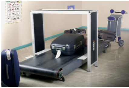 Times-7 SlimLine A6020 Conveyor Belt RFID Antenna Portal | 70913 / 70820