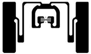 Avery Dennison AD-384r6-P UHF RFID Wet Inlay (Monza R6-P) | RF600929