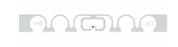 SMARTRAC ShortDipole RFID Dry Inlay (Monza R6-P) | 3005076