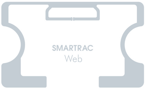 SMARTRAC Web RFID Dry Inlay (Monza R6-P) - 8,000 Inlays | 3006082_8000