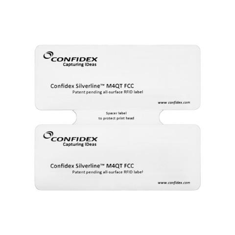 Confidex Silverline Classic™ RFID Tag (Monza 4 QT) - 500 Tags [B-Stock] | 10025340-B