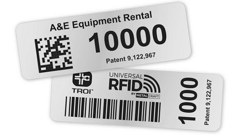 Vulcan RFID Custom Metal Tag | VR-MT