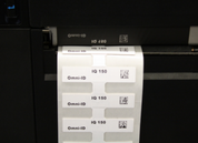 Omni-ID IQ 150 On-Metal RFID Label (866-868 MHz) - 700 Labels [B-Stock] | 125-EU_700-B
