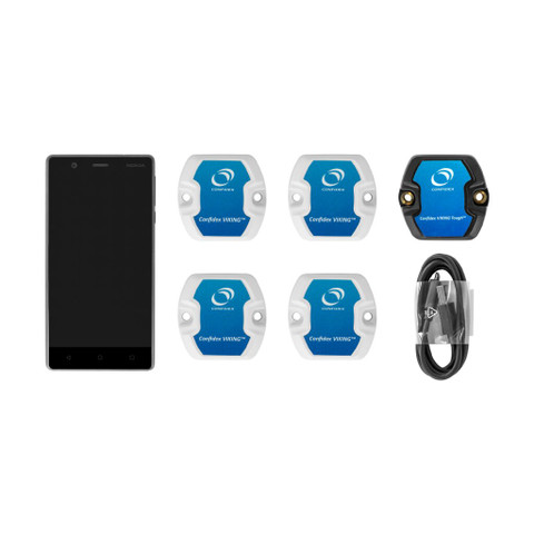 Confidex Viking™ Bluetooth Beacon Development Kit with Android Device | 3002106-B