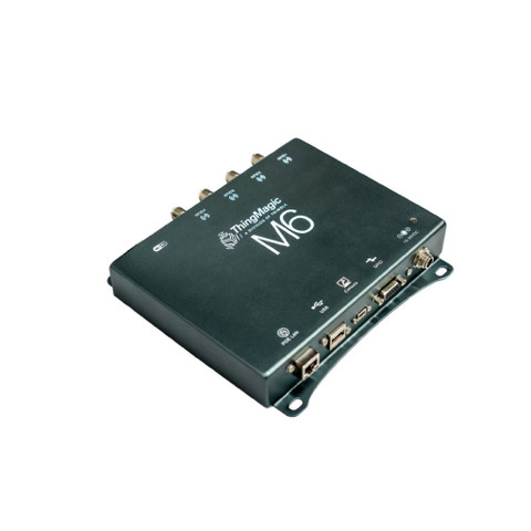 ThingMagic M6 UHF RFID Reader (4-Port) - EU Version [Clearance] | M6-EU-POE-B