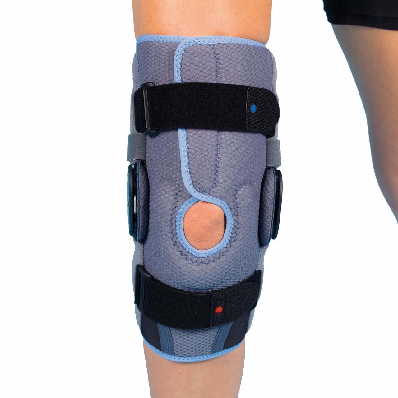 cb4b829a12 T151 Airtex Semi Open ROM Knee Brace