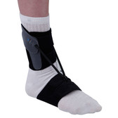 Textile Drop Foot Orthosis with Plantar Band