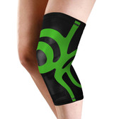 Pull on Knee Support with Integrated Power Band Compression Taping