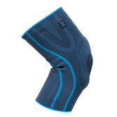 Aqtivo Sport Elastic Knee Support with Silicone Padding and side Stabilisers