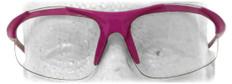 ERB #18618 Ella Pink Safety Eyewear w/ Clear Lens