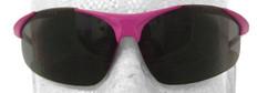 ERB #18619 Ella Pink Safety Eyewear w/ Smoke Lens