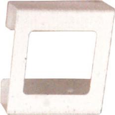 2-Box Horizontal Plastic Box Glove Dispenser, WHITE HEAVY-DUTY PLASTIC