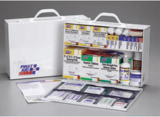 2-Shelf, 515-Piece Industrial First Aid Station (Without Liner)