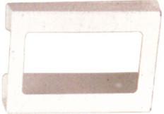 3-Box Horizontal Plastic Box Glove Dispenser, WHITE HEAVY-DUTY PLASTIC