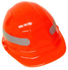360 Wrap Around Silver Hard Hat Sticker