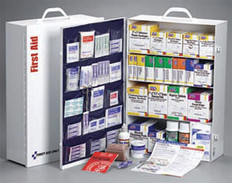 4-Shelf, 1059-Piece Industrial First Aid Station (Without Liner)