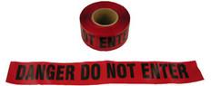 Allsafe SMC Barrior Tape, Danger Tape, Do Not Enter, Red