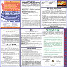 Arizona Labor Law Poster - English - Spanish