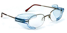 Safety Optical Service #B26 Universal Side Shields B26 Clear for Smaller Glasses