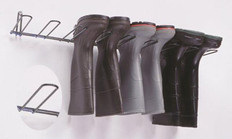 Boot Rack, Black, Holds 3 Pairs