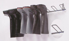 Boot Rack, Stainless Steel, Holds 4 Pairs