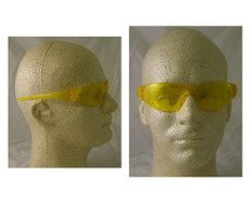 Crews Checkmate Safety Glasses w/ Amber Lens