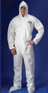Chemmax 2 Coverall with Hood, Boots and Elastic Wrists (12 per case)