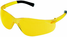 MCR Crews #BK114 Bearkat Safety Eyewear w/ Amber Lens