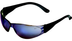 MCR Crews #CL118 Checklite Safety Eyewear w/ Blue Mirror Lens