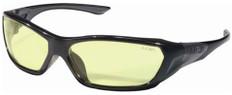 MCR Crews #FF124 Force Flex Safety Eyewear w/ Amber Lens