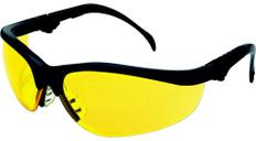 MCR Crews #KD314 Klondike Plus Safety Eyewear w/ Amber Lens