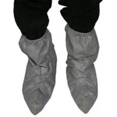 DuPont Tyvek® Skid Resistant FC Boot Covers Gray (10 PAIR SAMPLE PACK)