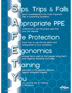 General Safety Poster (24 by 32 inch)