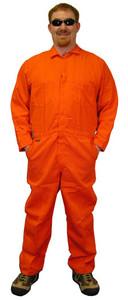 Indura Coveralls - Orange Color - Size Small to 5XL