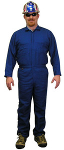 Nomex IIIA Coveralls - Royal Blue - Sizes Small to 5XL