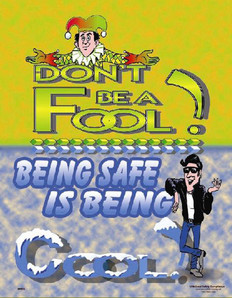 Be Cool Safety Poster - 24X32