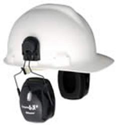 Leightning L3H NRR 27 Earmuff Hard Hat Mount