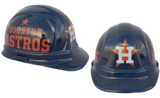Houston Astros MLB Baseball Safety Helmets with pin lock suspensions