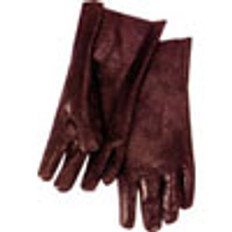 PVC Gloves 12 inch with Smooth Finish (sold by the dozen)