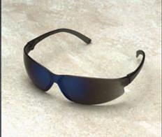 ERB Super Safety Glasses: Super ERB's Safety Glasses Blue Mirror Lens