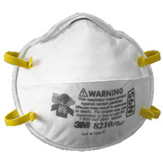 3M 8210PLUS Series N95 Respirator (20 per box)