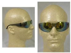 Gateway #467M Starlite Safety Eyewear w/ Gold Mirror Lens