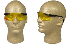 Smith and Wesson #4844 Mini Magnum Safety Eyewear w/ Amber Lens