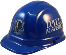 Dallas Mavericks NBA Basketball Safety Helmets - Oblique View