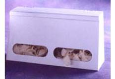 2-Compartment Bulk Glove Disp W/Lid
