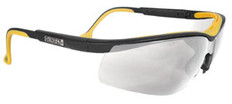 DeWALT High Performance Dual Injected Rubber Safety Glasses with Clear Lens