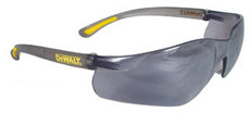 DeWalt Contractor Pro Safety Glasses with Silver Mirro Lens