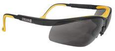 DeWalt High Performance Dual Injected Rubber Safety Glasses with Smoke Lens